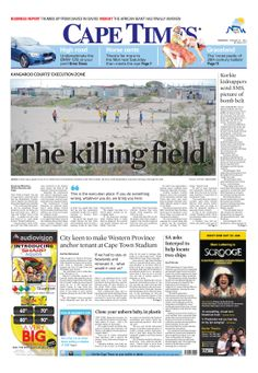 News making headlines: The killing field