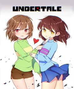 Undertale - Chara and Frisk Undertale Comic, Undertale Rule 34, Undertale Memes, Undertale Ships, Undertale Cute, Undertale Fanart, Frisk, Chara, Undertale Pictures