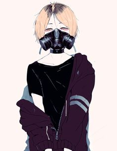 """Shiu on Twitter: """"i still have a thing for gas masks https://t.co/3uxdASomD5"""""""