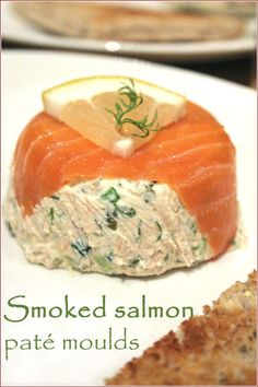 As I mentioned before, over Christmas and New Year I had to produce food in three kitchens other than my own, and to save my sanity I decided to come up with three recipes based on one central ingr… Smoked Salmon Terrine, Smoked Mackerel Pate, Smoked Salmon Appetizer, Smoked Salmon Dip, Pate Recipes, Fish Recipes, Seafood Recipes, Appetizer Recipes, Appetizers