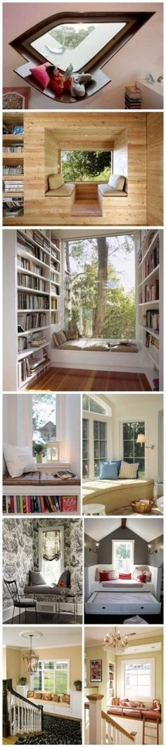 9 nice windowsill space design works