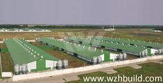 Hebei Weizhengheng Modular House Technology Co. Poultry Farming, Pig Farming, Steel Structure Buildings, Building Structure, Sheep House, Farm House, Farm Chicken, Animal Agriculture, Industrial Park