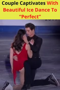 Let's get right to it. This is a fantastic dance on ice. It is stunning and beautiful to watch in that it almost seems like these two dancers know each other so well. As captivating and as riveting as it all is, here's the story.