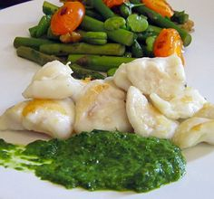 Scrumptious Scran - Edinburgh food bloggers' recipes, reviews and foodie thoughts: Recipe: Spring fresh – Sautéed monkfish cheeks, wi...