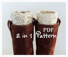 Free Crochet Boot Cuff Pattern | Crochet Patterns — Blogs, Pictures, and more on WordPress