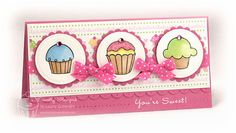 Mmmm, Cupcakes... by Lauraly - Cards and Paper Crafts at Splitcoaststampers