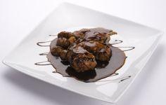 Coniglio con castagne all'Aceto Balsamico
