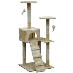 Homessity HC-009 Light Weight Economical Cat Tree Furniture *** Click image for more details. (This is an affiliate link) #CatCondoTreeTower