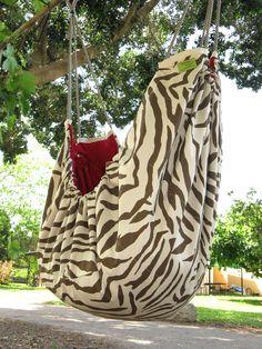 Zebra ZAZA baby hammock  A hammock for babies and by ZazaHammocks,