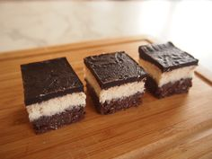 Chocolate & Coconut Triple Layer Slice (Gluten, Grain, Dairy & Refined Sugar Free)  #HungryCub