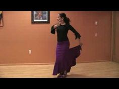 Dancing the Flamenco : Flamenco Dancing: Adding Accents to Steps - YouTube