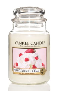 Strawberry Buttercream #YankeeCandle #MyRelaxingRituals