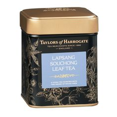 Shop for Taylors Of Harrogate Lapsang Souchong Loose Leaf Tea Caddy Starting from Compare live & historic grocery prices. Lapsang Souchong Tea, Best Tea Brands, Tea Tins, Tea Caddy, Tea Blends, Loose Leaf Tea, Along The Way