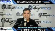 Toledo Rockets vs. Miami Ohio Redhawks Predictions 2/9/18