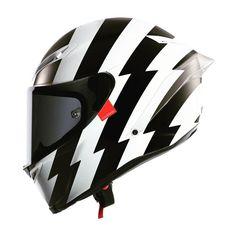Custom AGV Corsa designed by Hello Cousteau Agv Helmets, Biker Helmets, Custom Motorcycle Helmets, Custom Helmets, Racing Helmets, Motorcycle Gear, Women Motorcycle, Cool Motorcycles, Vintage Motorcycles