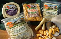 Henning's Wisconsin Cheese is a fourth generation family owned cheese factory based in rural Kiel, Wisconsin.