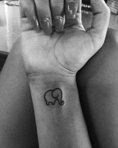 Elephant Tattoo Designs for Girls