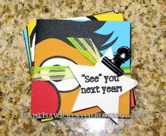 "I came, I saw, I created.: Sesame Street Cards ~ ""See"" you next year!"