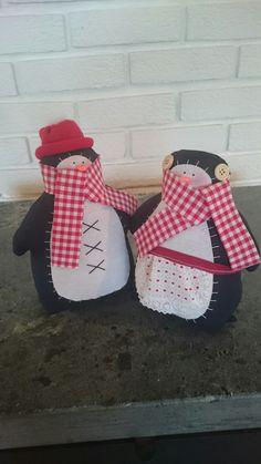 Tilda inspired penguins for Christmas Penguins, Inspired, Christmas, Inspiration, Xmas, Biblical Inspiration, Weihnachten, Navidad, Yule