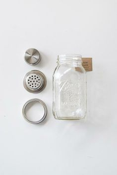 Mason Jar Cocktail Drink Shaker / Orn Hansen
