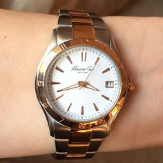 NWT BEAUTIFUL Rose Gold/Silver KENNETH COLE watch This is truly a BEAUTIFUL Rose Gold/Silver KENNETH COLE watch. It's New with tags, would make a perfect gift! Retail $135. Kenneth Cole Accessories Watches