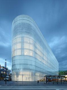 Kulturbau :: Benthem Crouwel Architects #architecture ☮k☮