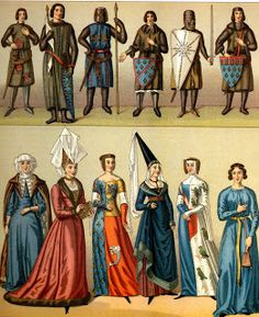 Costume History Medieval Fashion