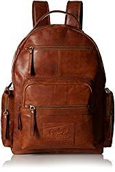 Rawlings Rugged Backpack, Cognac, One Size: Rawlings legends rugged vintage, pre-washed leather with distressed character in a rich warm glove brown. Iconic Rawlings brand combines classic good looks with durability and great organization functionality Leather Gifts For Her, Leather Backpack For Men, Black Backpack, Marvel Backpack, Laptop Backpack, Leather Gloves, Leather Bag, Luggage Brands, Up Dos