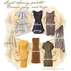 Light Spring palette tips
