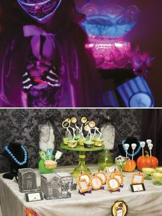 Glow in the Dark Halloween Party!