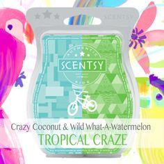Scentsy Crazy Coconut Scentsy Wild What-A-Watermelon Scentsy Mixology Scentsy Recipes deedeeburr.scentsy.com.au