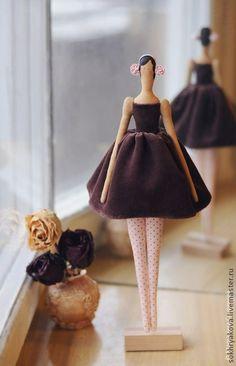 Куклы Тильды ручной работы. Ярмарка Мастеров - ручная работа Балерина. Handmade.
