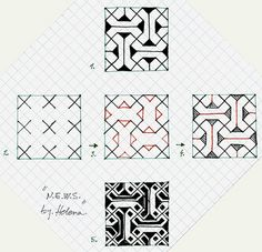 I like this pattern, but I really wish they would not use graph paper.
