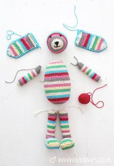 Rico Designs Crochet Kit - Lenny the Rabbit