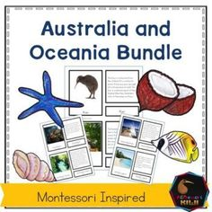 Montessori inspired social studies and science activities about Oceania or countries of the South Pacific Contains Australia and Oceania places i Montessori Elementary, Montessori Activities, Science Activities, Montessori Classroom, Classroom Ideas, Pacific Map, South Pacific, Pacific Ocean, Spring Activities