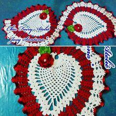 Ser Chic é usar Chic Fairy Ateliê    Trilho de mesa #red #white #instagood #Terapia #Dedicação #handmade #Amor #Crochê #Crochet #feitoamão #artesanal #artesanato #yarn #linha #agulha #paixao #instacroche #instacrochet #crochetaddict #crochetaddicted #viciada by chicfairyatelie