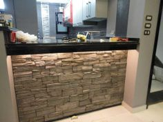 stone eat in bars in kitchens | Condo Kitchen Bar | Kitchen Stone Aplications