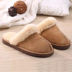 冬季新款家居家棉拖鞋男女情侣款室内防滑加厚底纯色毛绒保暖棉鞋-淘宝网