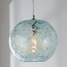 Check out Speckled Hand Blown Glass Pendant from Shades of Light Glass Pendant Shades, Glass Pendant Light, Glass Pendants, Pendant Lighting, House Lighting, Coastal Lighting, Coastal Decor, Coastal Chandelier, Coastal Rugs