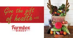 Give them something they'll really love this Holiday! www.farmboxdirect.com