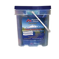 Disasternecessities Mountain House Classic Assortment Bucket - http://www.disasternecessities.com/product/disasternecessities-mountain-house-classic-assortment-bucket