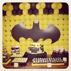 For a Batman birthday.