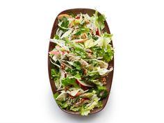 Escarole-Apple Salad with Walnut Dressing recipe from Food Network Kitchen via Food Network