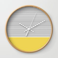 https://society6.com/product/minimal-green-stripes_wall-clock?curator=hotblossom