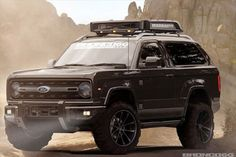 Check out this 2020 Ford Bronco Rendering From Bronco6G. We hope the new Bronco from Ford looks something like this.
