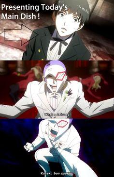 """Tokyo Ghoul.""  o.o   >. <   O.O   o.O"