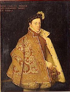 Don Carlos, Prince of Spain, mid-16th century, by Anthonis Mor