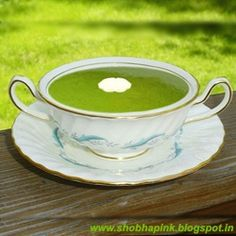 Spinach Soup by shobhapink
