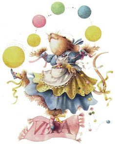 Pictures painted by Marjolein Bastin | Vera the Mouse (HallmarkEntertainment)