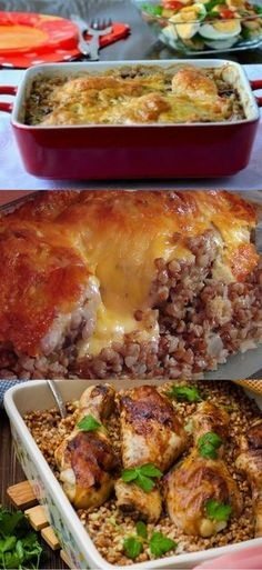 I have not tasted more delicious buckwheat: Buckwheat with Chicken, Baked … – Chicken Recipes Chicken Sausage, Baked Chicken, Chicken Recipes, Queens Food, My Recipes, Healthy Recipes, Good Food, Yummy Food, Russian Recipes